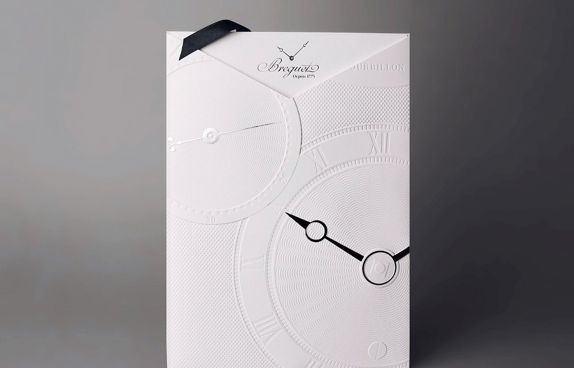 Breguet exhibition - Breguet Invitation card