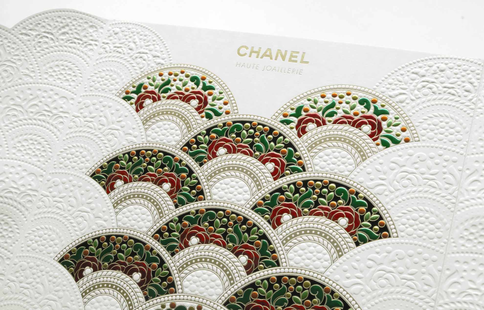 Invitation Haute Joaillerie CHANEL Red