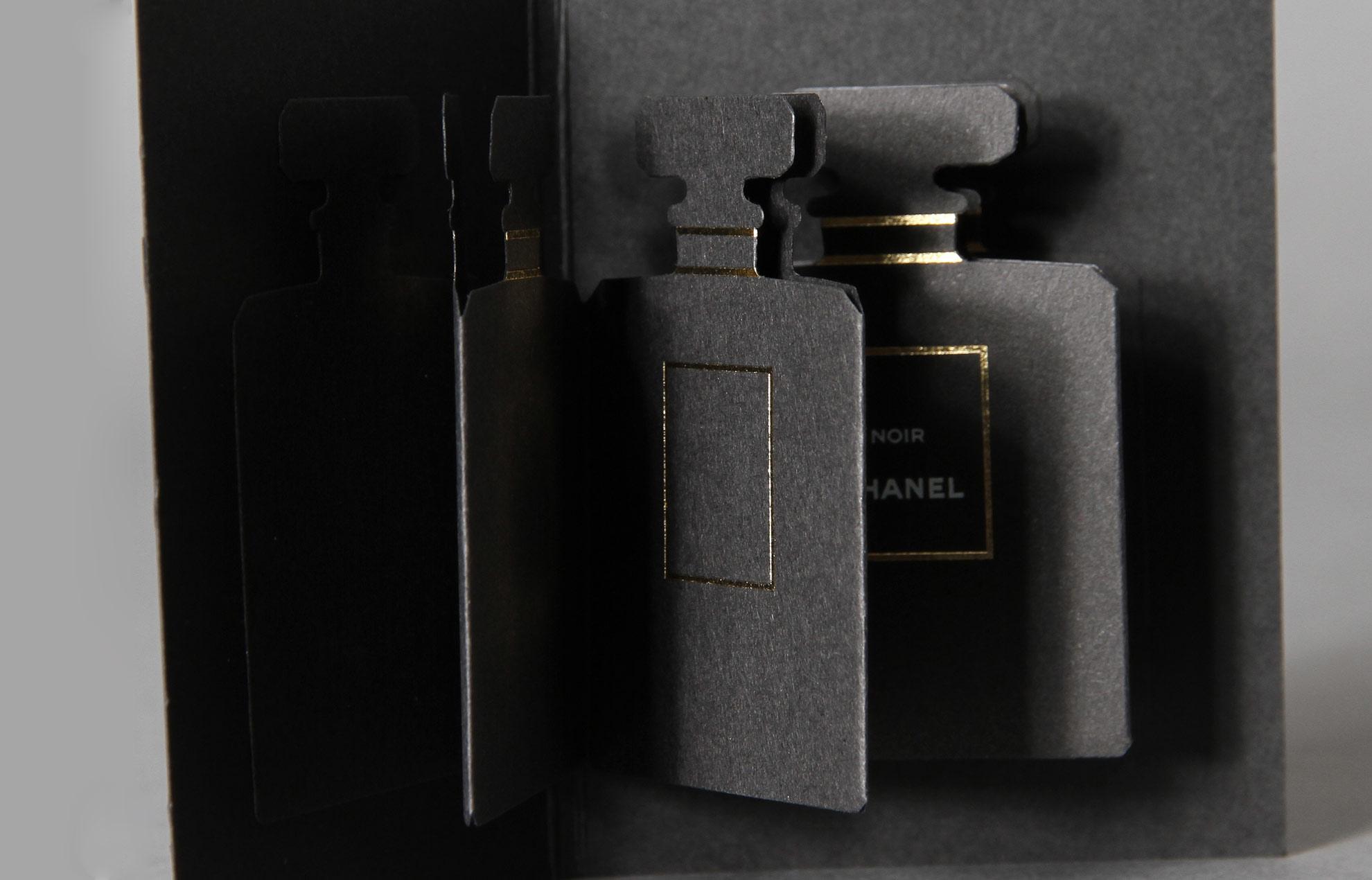 chanel coco noir hot stamping blotter paper object. Black Bedroom Furniture Sets. Home Design Ideas